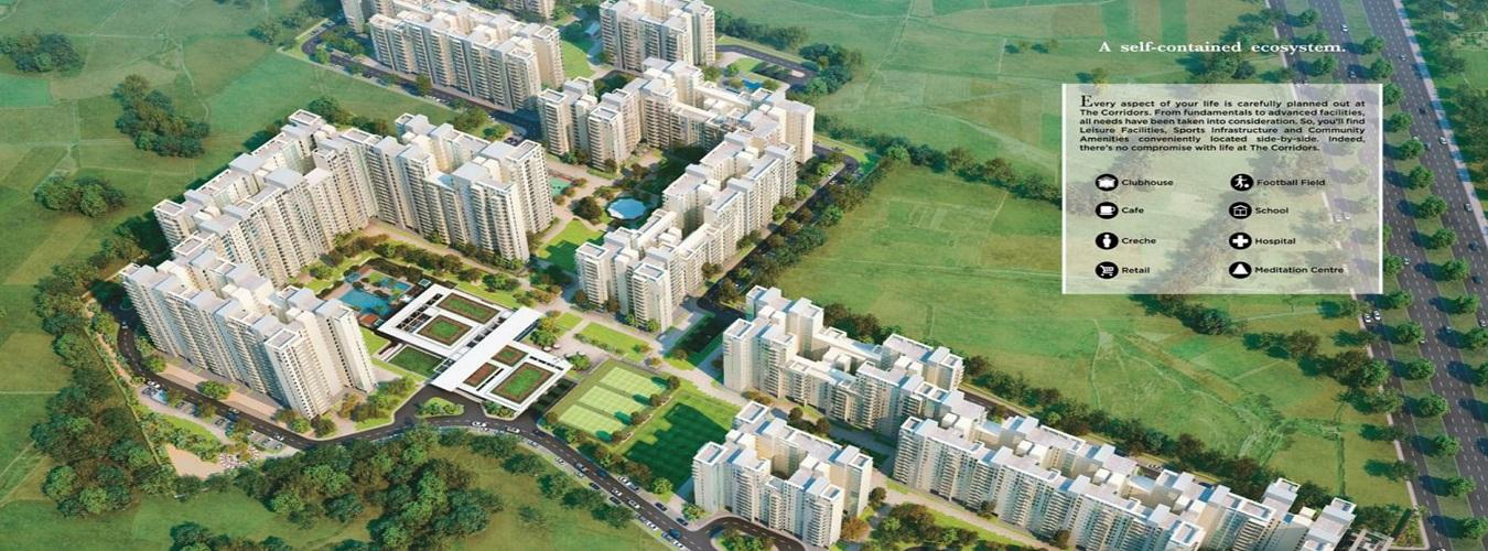 The Corridors in Sector-67. New Residential Projects for Buy in Sector-67 hindustanproperty.com.