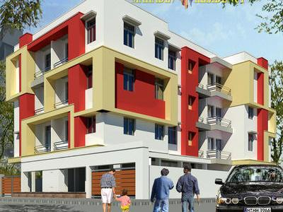 flat / apartment, kolkata, behala, image